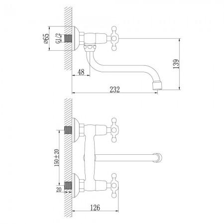 Смеситель LEMARK Standard LM2111C для кухни