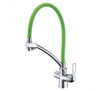 Смеситель LEMARK Comfort LM3070C-Green для кухни с подключением к фильтру