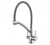 Смеситель Lemark Comfort LM3071C-Gray для кухни с подключением к фильтру