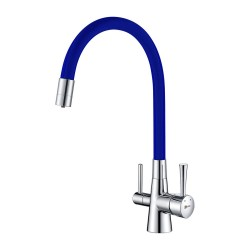 Смеситель LEMARK Comfort LM3075C-Blue для кухни с подключением к фильтру