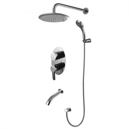 Смеситель Lemark Atlantiss LM3222C для ванны и душа