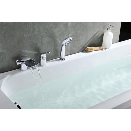 Смеситель LEMARK Shift LM4345C на борт ванны