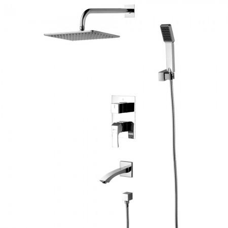 Смеситель LEMARK Unit LM4522C для ванны и душа