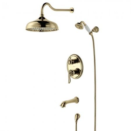 Смеситель LEMARK Brava LM4722G для ванны и душа
