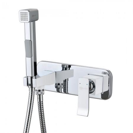 Смеситель Lemark Contest LM5819CW с гигиеническим душем