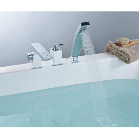 Смеситель LEMARK Contest LM5845CW на борт ванны