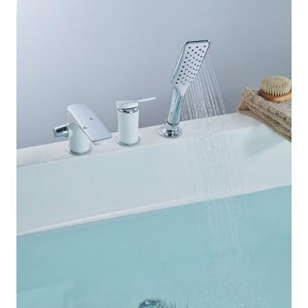 Смеситель LEMARK Allegro LM5945CW на борт ванны