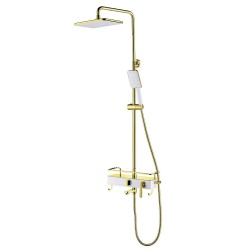 Смеситель LEMARK Mista LM6462WG для ванны и душа
