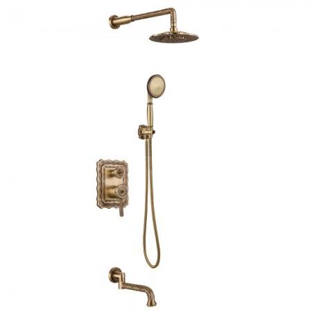 Смеситель Lemark Jasmine LM6622B для ванны и душа