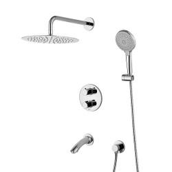 Смеситель LEMARK Yeti LM7822С термостатический для ванны и душа