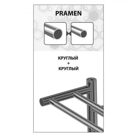Полотенцесушитель водяной LEMARK Pramen LM33607 П7 500x600