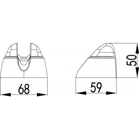 Крепление настенное LEMARK LM8099C фиксированное для лейки